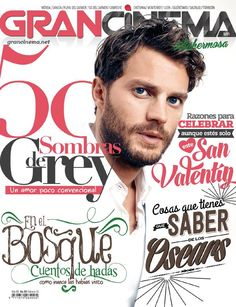 WOW love this photo Jamie Dornan <3 in GranCinema Mag!! Mexico