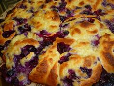 Schwedischer Blaubeer-Kuchen/ Swedish Blueberry Cake   Ninive loves Life