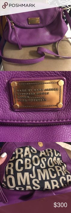 Spotted while shopping on Poshmark: $368 Marc Jacobs Natasha Crossbody bag 😍! #poshmark #fashion #shopping #style #Marc by Marc Jacobs #Handbags
