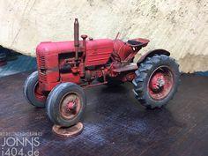 Zwischenstand, Case Vai Traktor, 1:35 – Modellbau & Dioramen