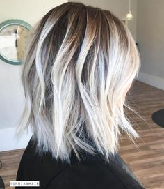 14 New Short Haircuts for 2017 Summer Season: Balayage Lob Ombré Hair, Hair Day, Blonde Hair, Short Blonde, Medium Blonde, New Short Haircuts, Short Hair Cuts, 2018 Haircuts, Medium Hair Styles