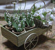Lily of the valley, Dollhouse Miniature Rosy, Yukari Miyazaki