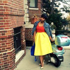 Como combinar amarelo - Moda & Style