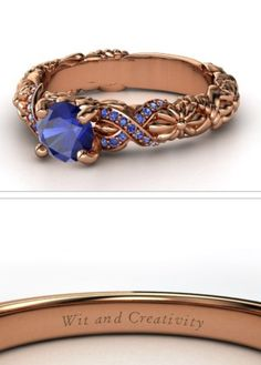 Hogwarts house rings - Ravenclaw I think all of us Ravenclaws should have these so we can identify each other! | I like the idea of a house ring SO much better than a class ring hahah
