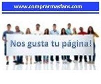 http://www.comprarmasfans.com el referente para comprar fans en Facebook 100% recomendable y seguro. Fans reales y de habla hispana.