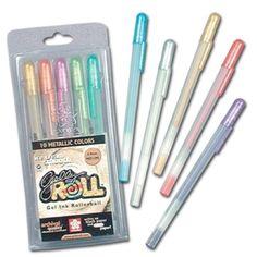 Milky and Gel Pens