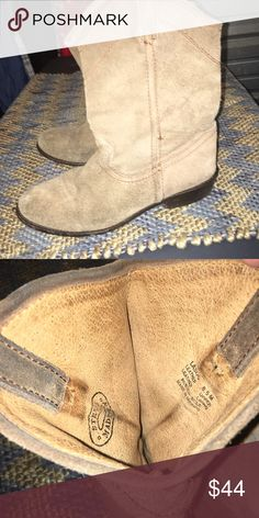 Steve Madden Suede leather boots Beautiful condition. Steve Madden Shoes Ankle Boots & Booties