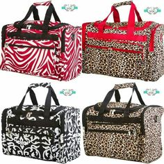 New Duffle bags added yesterday. Click on link to go to my website.  https://allaboutyougifts.com/#christinatarpley