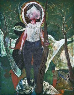 Waldemar Zimbelmann Untitled, 2011 mixed media on canvas 115 x 90 cm
