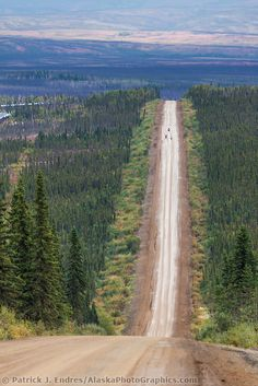 Gravel surface of the James Dalton Highway, commonly called the Haul Road, Trans Alaska oil pipeline, Alaska. The Road, Places To Travel, Places To See, Dalton Highway, Alaska Cruise, Prudhoe Bay Alaska, Alaska Usa, Dangerous Roads, Motorcycle Travel