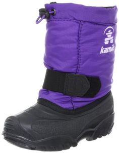 Amazon.com: Kamik Tickle Boot (Toddler): Shoes...maybe if I get her some nice snow boots it won't snow all winter?