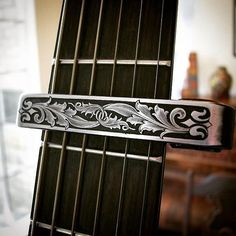 "1,088 Likes, 18 Comments - Rick W. Simmons (@bespoke_engraver) on Instagram: ""Aluminum Guitar Capo Engraved by yours #engraver #engraved #engraving #handengraver #handengraved…"""