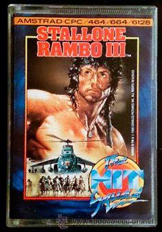 Juego Amstrad CPC Cinta - Rambo III (1988)