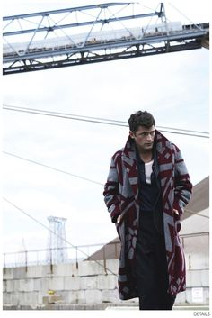 Sean OPry Dons Fall Outerwear for Details October 2014 Issue image Sean OPry Details Fashion Editorial October 2014 009