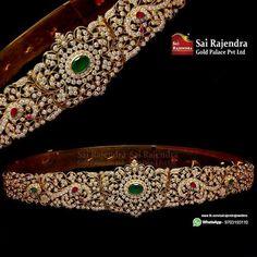 Antique Jewellery Designs, Antique Jewelry, Jewelry Design, Indian Jewelry Sets, India Jewelry, Vaddanam Designs, Waist Jewelry, Bridal Jewelry, Fashion Jewelry