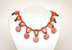 Coral Necklace, by Mimi Scholer