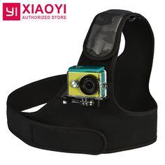 100% Original Xiaoyi YI Chest Mount Shoulder/Breast Strap Mount for Xiaoyi YI 4K Action Camera YI WIFI Action Sports Camera 12