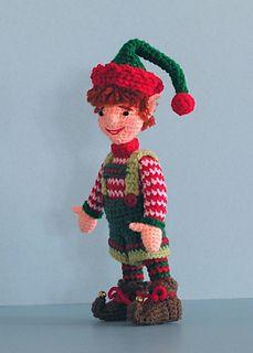 Santa`s Elf Amigurumi - Free Pattern - PDF Download