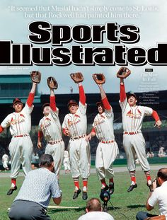 One of four Sports Illustrated covers honoring the memory of St. Louis Cardinals baseball player Stan Musial, who passed away last week.