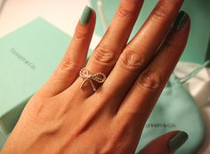 Tiffany and Co. Twist Bow Ring