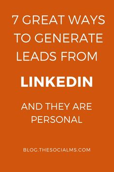 LinkedIn is one of the most efficient places to generate leads, but a lot of people are missing out on it. Here are some ideas how to get targeted leads. Online Marketing, Social Media Marketing, Digital Marketing, Event Marketing, Marketing Tools, Content Marketing, Insurance Marketing, Small Business Marketing, Business Networking