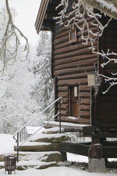 Vinter på Lysebu. Vakkert beliggende i Holmenkollen med nærhet til skogen og utsikt helt til Norefjell. Lysebu tilbyr de beste rammene rundt et bryllup.
