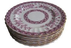 English Staffordshire Plates, S/7