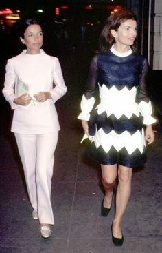 H.S.H. Princess Lee Radziwill and Jacqueline Kennedy