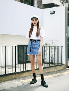 Korean Daily Fashion   Casual Chic Look                                                                                        Photo cred...