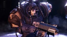 Focus Home Interactive and Streum On Studio have posted a brand new trailer for Space Hulk: Deathwing, in which a squad of Space Marines shoot, hack and bash their way through a bunch of Genestealer monsters. Warhammer 40k Figures, Warhammer 40000, Space Hulk Deathwing, Game Workshop, Cg Artist, First Person Shooter, Unreal Engine, New Trailers, Space Marine