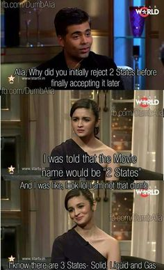 Alia bhatt trolled...2 states promotion or marketing gimmick...? #maverickforlife #maverickfilmmaniac