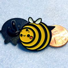 Chub Bee Enamel Pin
