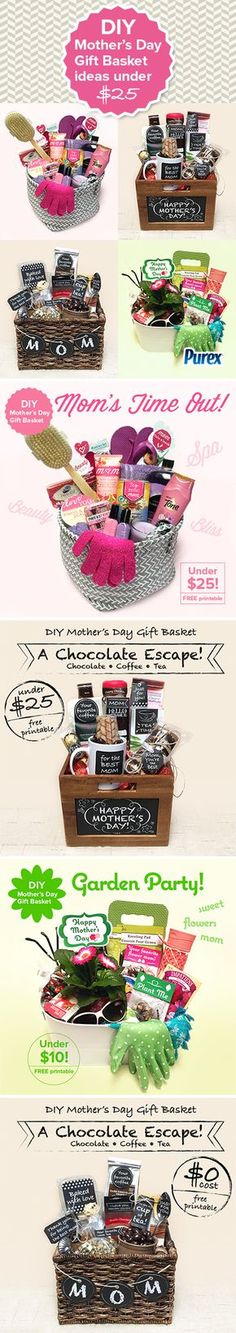 DIY Mother's Day gift basket ideas under $25!