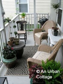 1000 images about balcony ideas on pinterest balconies - Narrow porch decorating ideas ...