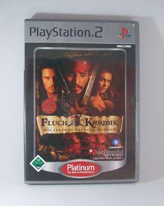 #Fluch der #Karibik Die #Legende des #Jack #Sparrow #Playstation 2 ( #PS2 ) #Spiel #FluchDerKaribik #eBay