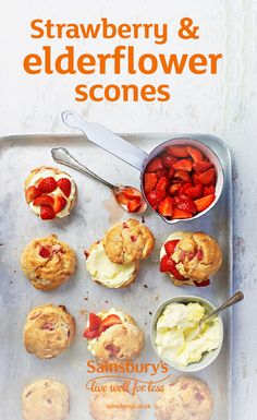 Get the kids in the kitchen. They'll love helping to make this strawberry scone dough.
