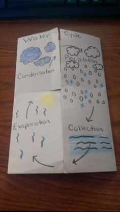 For our unit in Science (Earth Systems and Patterns), after the four seasons comes the Water Cycle! My kids absolutely love the Water Cycle. cycle The Water Cycle (Song and Foldable) Water Cycle Song, Water Cycle For Kids, Water Cycle Craft, Water Cycle Project, Water Cycle Activities, About Water Cycle, Weather Activities, Fourth Grade Science, Elementary Science