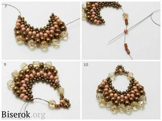 Easy ROUND Earrings - FREE Tutorial by Svetlana Pajkova (Nikolayev). Page 3 of 3