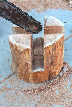 Heavy duty log stool