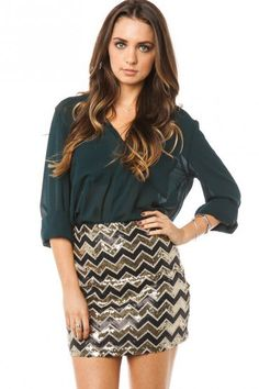 #ShopSosie                #Skirt                    #SUSA #SEQUIN #SKIRT      SUSA SEQUIN SKIRT                                   http://www.seapai.com/product.aspx?PID=864403