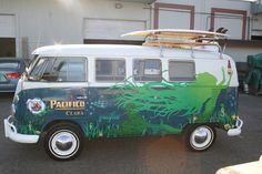 Pacifico: VW VIntage Surf Busses on the Behance Network