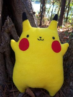 Pokemon Pikachu -- Original Design: Stuffed Animal. $49.99 #pikachu #pokemon #plush #plushie #stuffed_animal