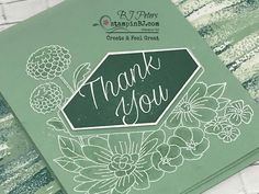 Accented Blooms, Stampin' Up!, BJ Peters, StampinBJ.com, Video Technique