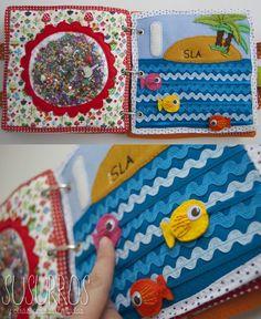 Cute quiet book ideas: Mi libro de juegos