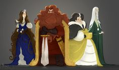The four founders of Hogwarts, School of Witchcraft, and Wizardry. Gryffindor, Ravenclaw, Hufflepuff, and Slytherin.