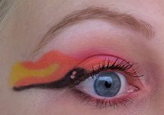 Sailor Chibi Moon inspired make up by   http://beauty-and-mooore.blogspot.de/2013/01/mein-erstes-sailor-moon-amu-fur-talasia.html