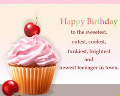 Welcome to our Happy Birthday Wishes Images and Pictures portal. Our focus is to help online readers find the best happy birthday quotes and messages Birthday Wishes Girl, Happy 13th Birthday, Happy Birthday Wishes Images, Birthday Wishes Quotes, Birthday Images, Birthday Ideas, Birthday Greeting Message, Birthday Card Sayings, Birthday Cards