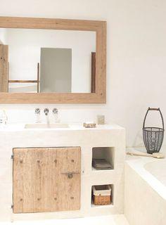 Es Canto - Just read more page as it is - Blakstadibiza Small Bathroom, Master Bathroom, Relaxing Bathroom, Bathrooms, Tadelakt, Bathroom Interior Design, Cheap Home Decor, Home Decor Accessories, House Design