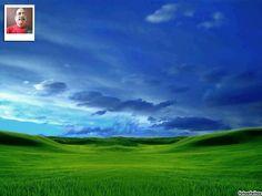 Twitter modelo de fundo com a sua foto: céu e verde - fotoefeitos.com Happy Diwali Pictures, Golf Courses, Mountains, Twitter, Nature, Travel, Good Morning Prayer Quotes, Background Templates, Backgrounds