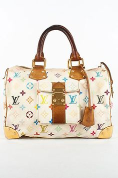 Louis Vuitton Speedy in Multicolour ... waiting to come out and play again when the kids are older!